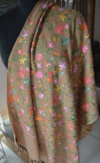 Pashmina Kashmiri Hand Embroidered Shawls