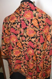 Kashmir Hand Embroidered Pashmina Cashmere Shawl