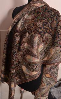 Kani Jamavar Shawl ~ 100% Cashmere Pashmina ~ Paisley ...