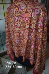 Special Kashmiri Embroidered Cashmere Pashmina Shawl