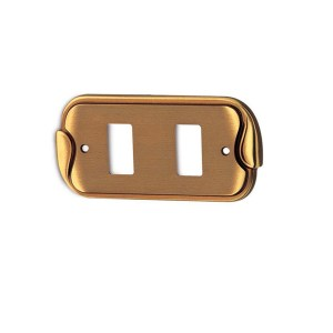 Switch cover polish brass keope classique