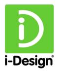 i-design logo