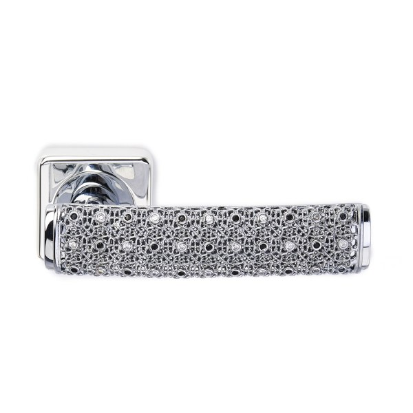 Handle on rose silver crystals dream-2 jewellery