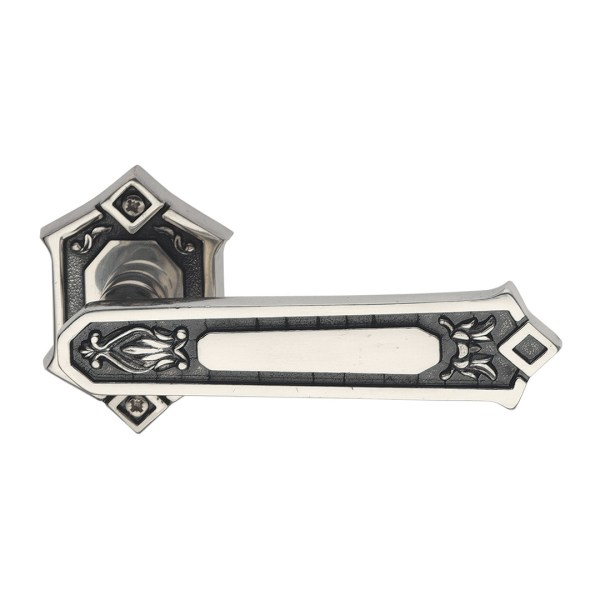 Handle on rose silver brass king classique-2