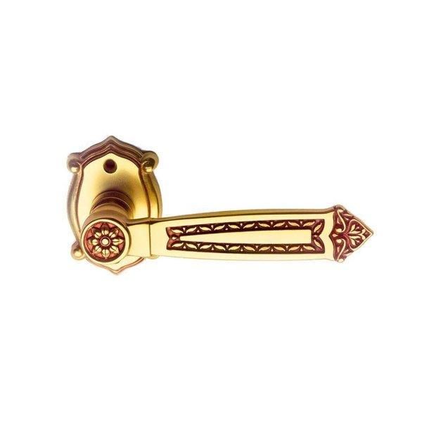 Maniglia su rosetta in oro francese Sultan Classique