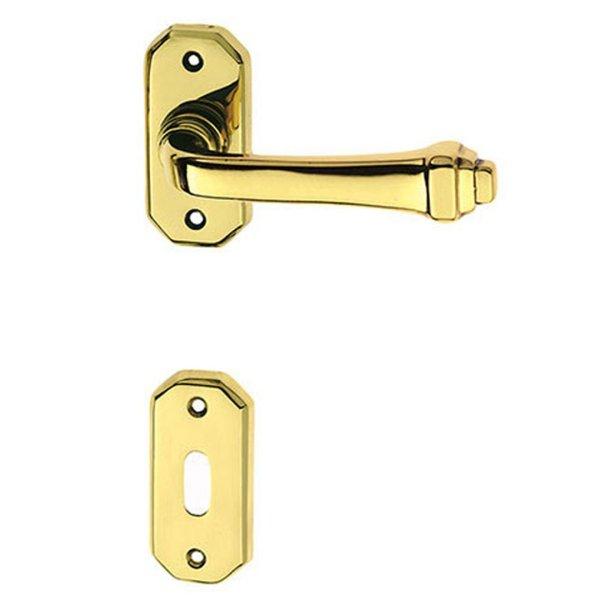 Handle on rose polish brass creola classique-2