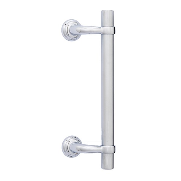 Pull handle chrome royal liscio classique