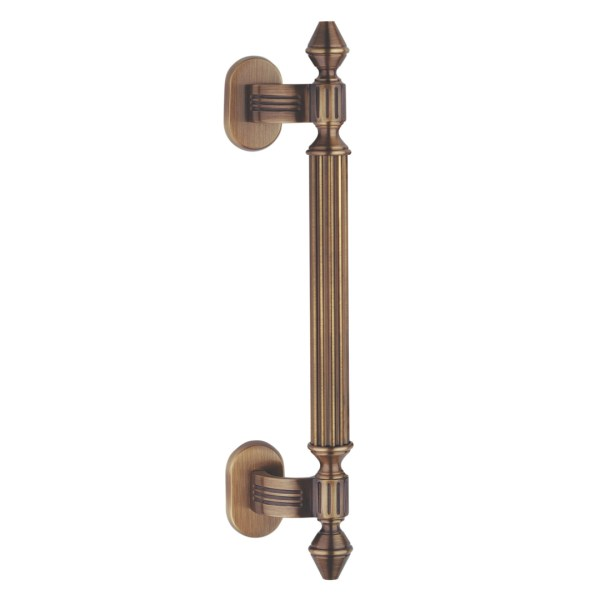 Pull handle bronze brass impero classique