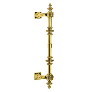 Pull handle polish brass venezia doppio classique