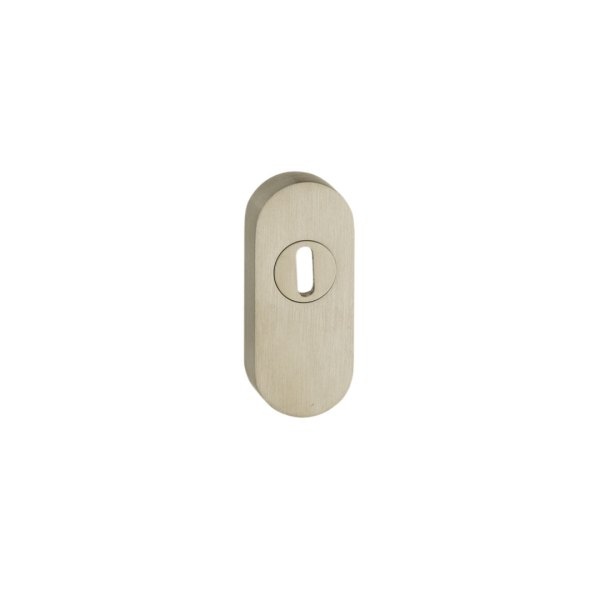 Art. 195-15 Bocchetta Sicurezza ovale mm. 15 inox