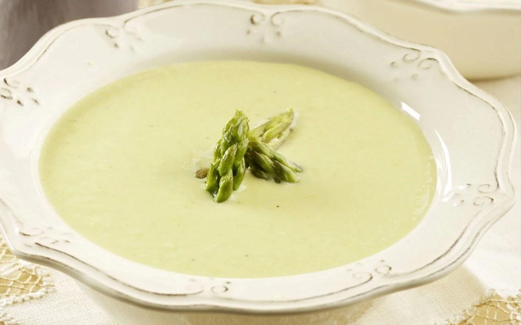 receta de Crema de Espárragos Verdes en Thermomix