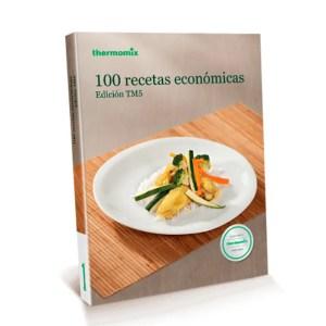 Libro de cocina - 100 recetas económicas - Thermomix Colombia