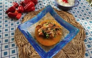 receta Encocado de pescado en Thermomix