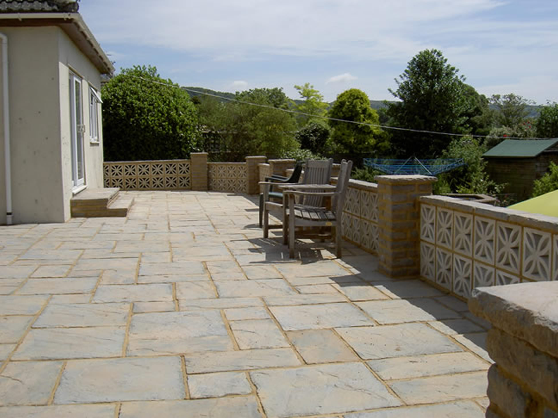 Driveways Patio and Paving  PA Sloan Garden Landscaping