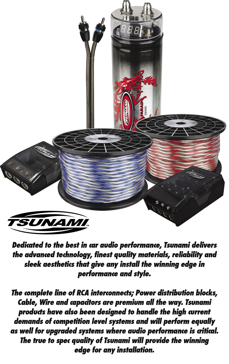 hight resolution of wiring distribution buyer s guide september 2012 tsunami installation kit