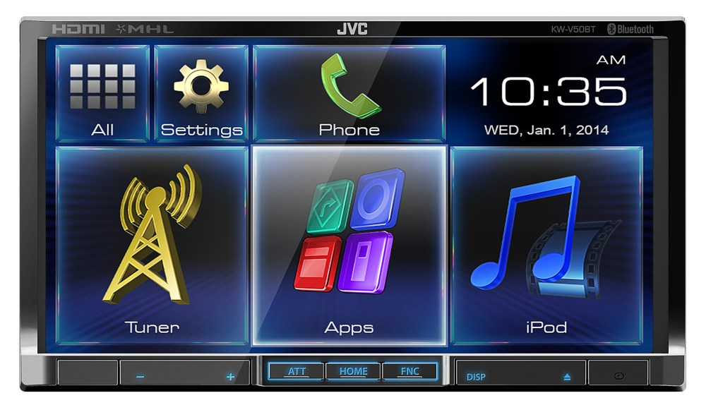 medium resolution of jvc kw v50bt dvd receiver review