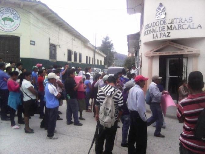 15 campesinos y campesinas de La Paz salen en libertad