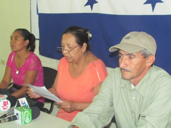 Peligroso escenario: Vuelve la criminalización contra campesinos en el Aguán