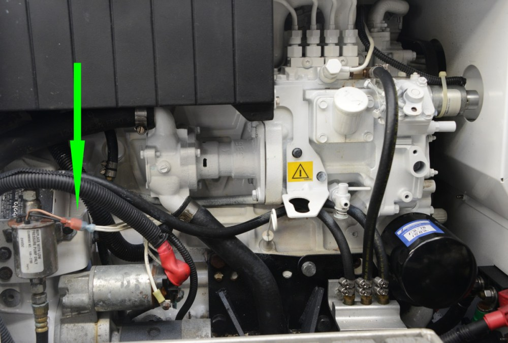 medium resolution of a failed lift pump will prevent the genset from starting this electric pump relies on