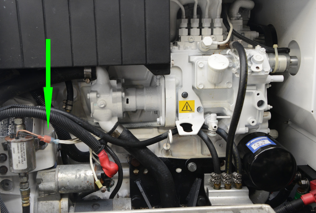 hight resolution of a failed lift pump will prevent the genset from starting this electric pump relies on