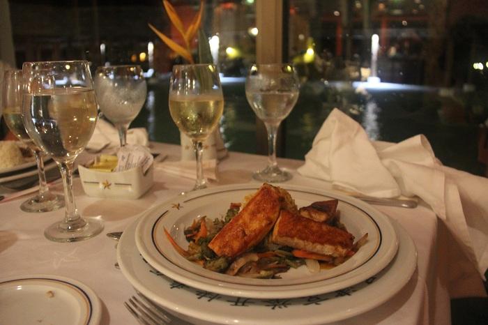 um dos pratos servidos nos restaurantes do iberostar