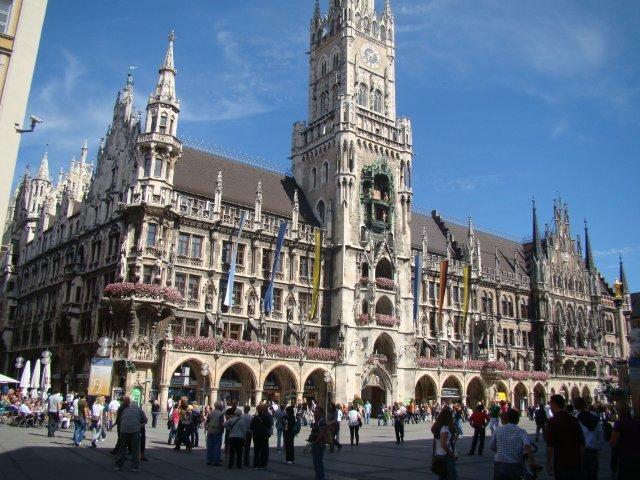 Munique-Marientplatz