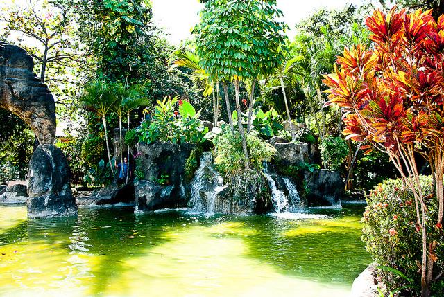 O Jardim Japonês, em Caldas Novas, é uma opção tranquila em meio a agitação dos parques (foto: Fred Lauletta/Flickr)