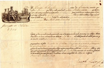 1831 Genova per Gibilterra