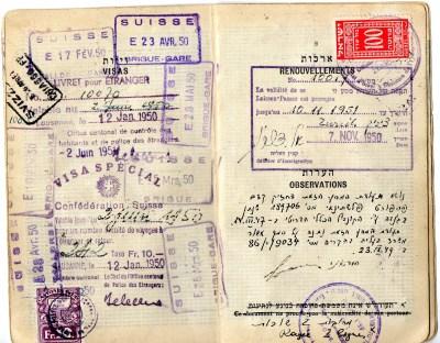 1949 Statodi Israele Ril. a Roma--