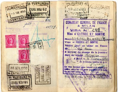 1949 Statodi Israele Ril. a Roma---