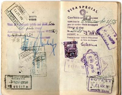 1949 Statodi Israele Ril. a Roma-----