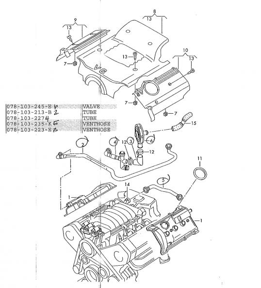 2003 Vw Pat 1 8T Engine Diagram : 2003 Vw Engine Diagram