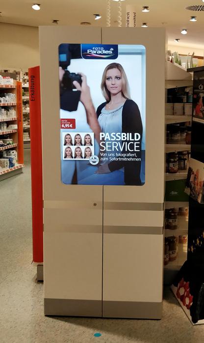 dm Passbilder Filialen mit PassbildService finden