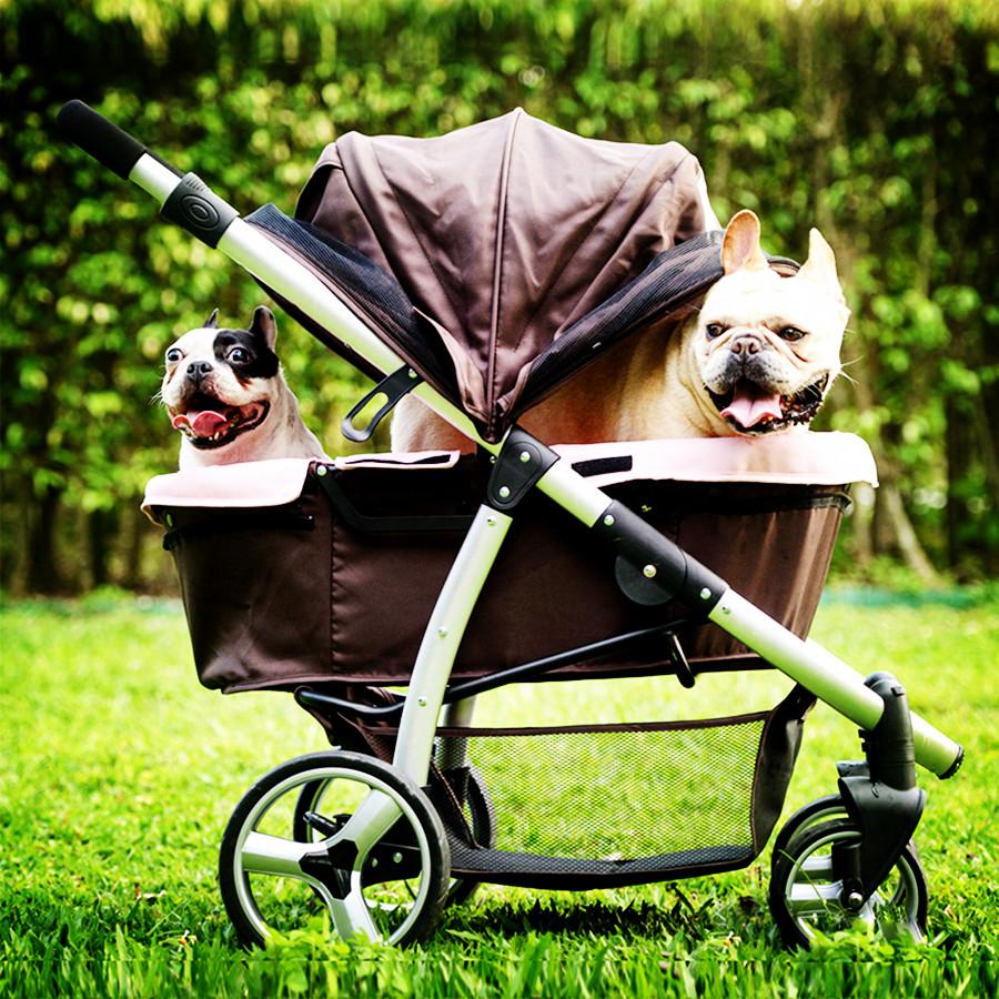 Passeggino per cani: non lasciare mai il tuo cane da solo