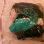 My moisture-wicking unmentionables, encased in Ziplock bag, of course!