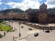 The Cathedral of Santo Domingo in Cusco.