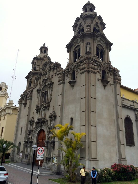 miraflores church