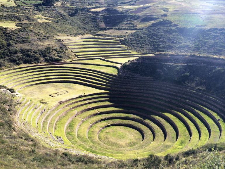moray agricultural terraces