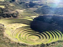 The agricultural terraces of Moray.