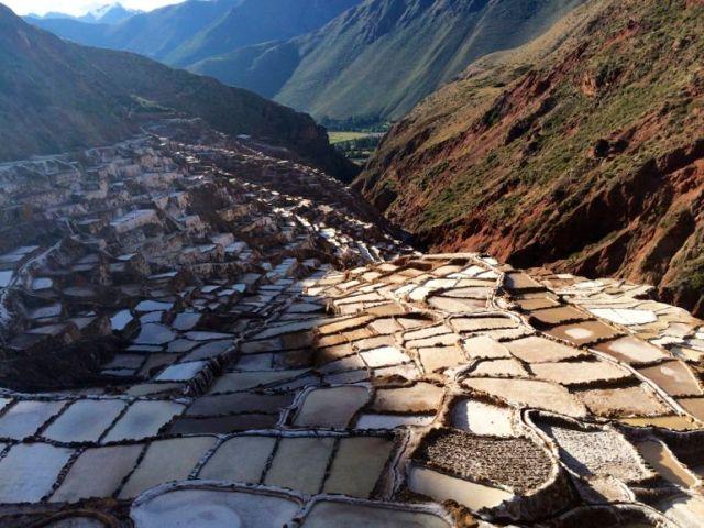 Salineras salt mines