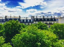 Views of Le Marais.