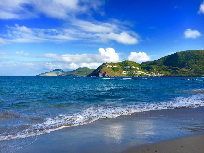 St. Kitts Marriott Resort beach
