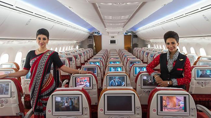 Air India to reserve 6 front seats for women