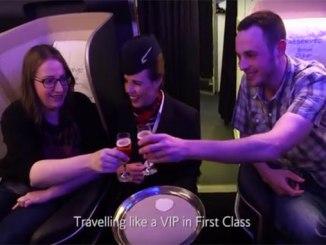 British Airways unforgettable trip for cancer-free woman