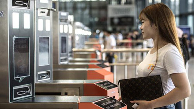 Facial recognition installed in Wuhan Railway Station