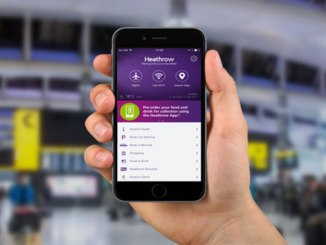 Heathrow app with Grab