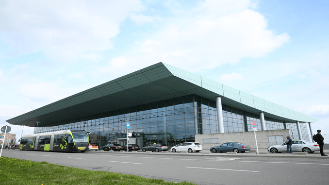 Luxembourg Airport terminal