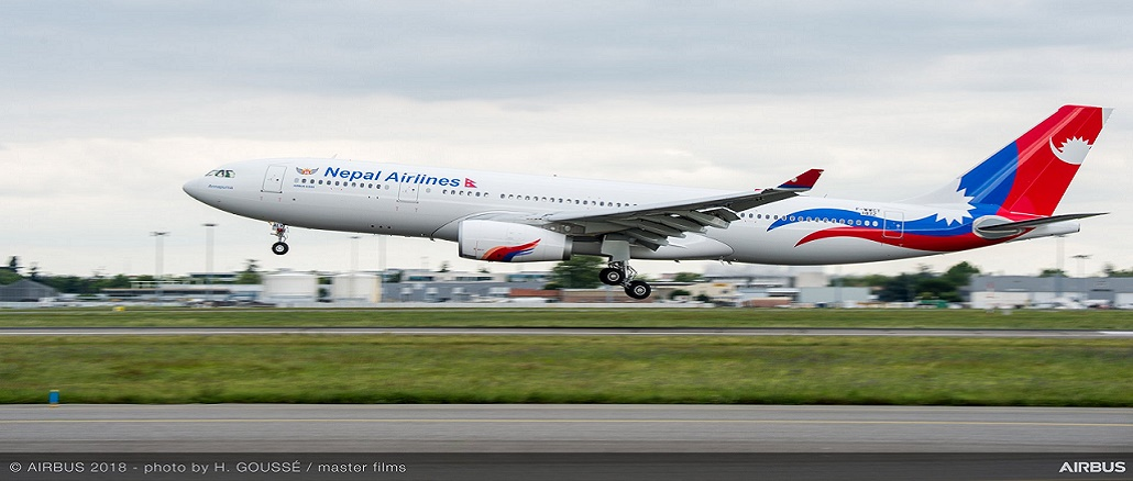 Nepal Airlines 1st Airbus A330