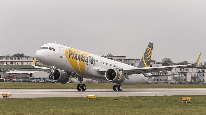Primera Air 1st Airbus A320neo