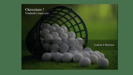 Golf de pratique l'Hétrière